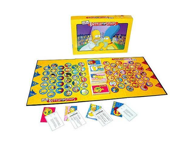 Battle of the Sexes - The Simpsons Edition Board Game