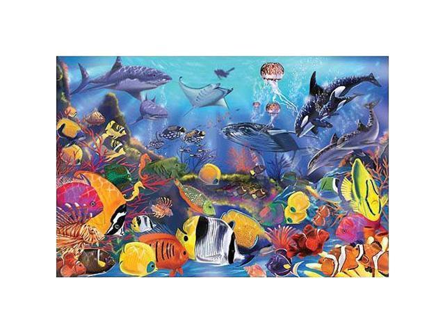 Underwater Floor Puzzle: 48 Pcs