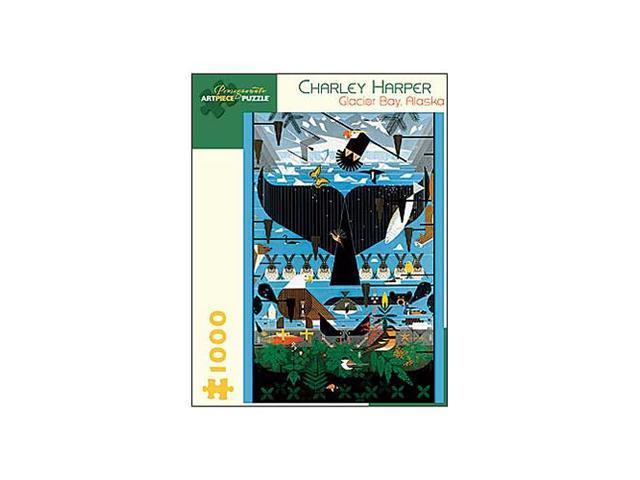 Charley Harper - Glacier Bay, Alaska Puzzle: 1000 Pcs