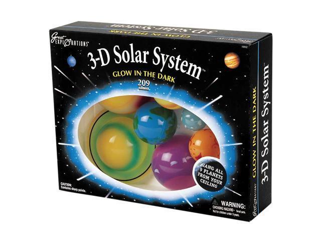 Glow-in-the-Dark 3-D Solar System Kit