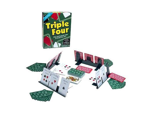 Triple Four Card Game