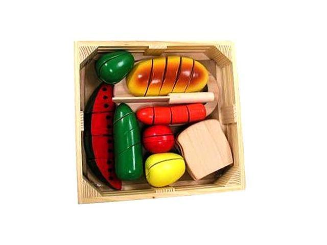 Cutting Food Box Play Food Set