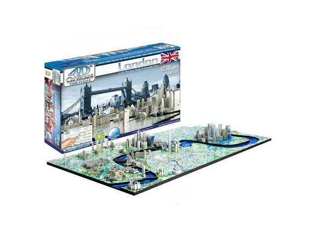 London History Time 4D Cityscape Puzzle by 4D Cityscape