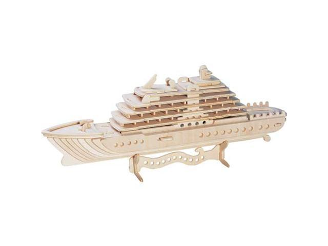 Luxury Yacht Wooden Puzzle