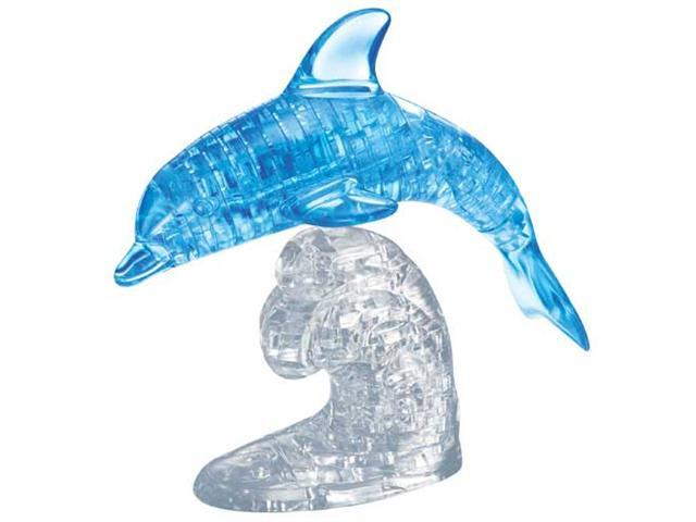 3D Crystal Puzzle Dolphin (95 Pieces)