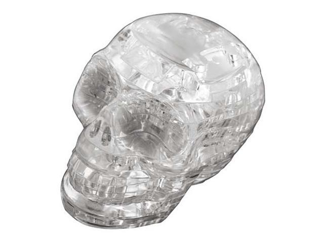 Crystal 3D Puzzles Skull Clear by BePuzzled