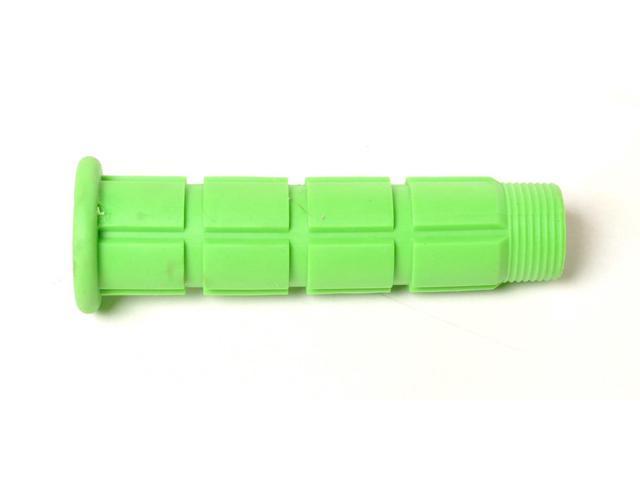 Colored BMX / Fixed Gear Bike Grips - Pair Green