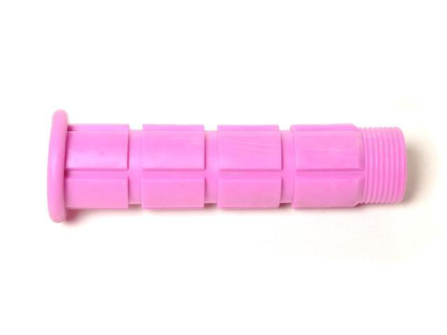 Colored BMX / Fixed Gear Bike Grips - Pair Pink