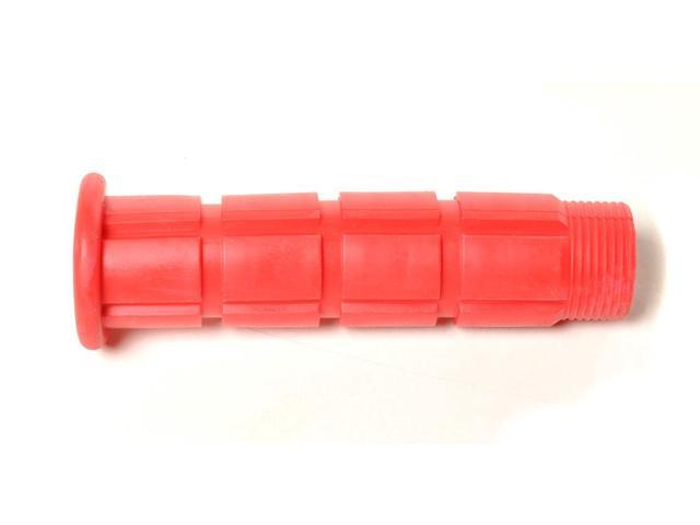 Colored BMX / Fixed Gear Bike Grips - Pair Red