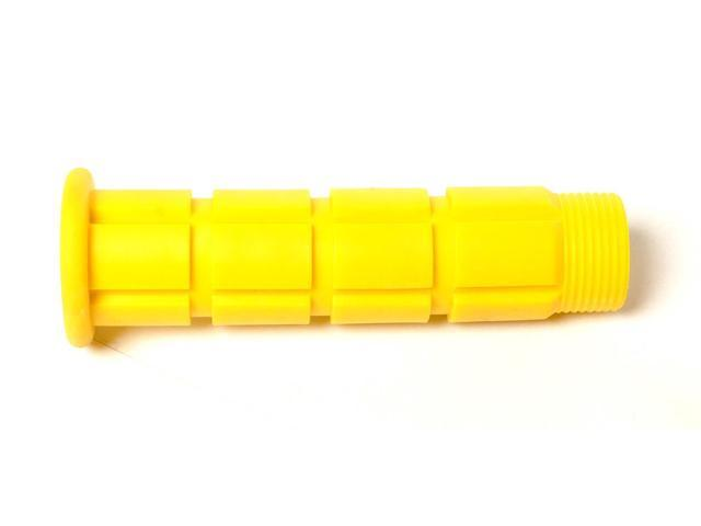 Colored BMX / Fixed Gear Bike Grips - Pair Yellow