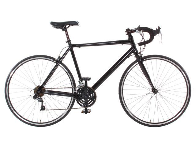 Aluminum Road Bike Commuter Bike Shimano 21 Speed 700c Medium (54cm) Black