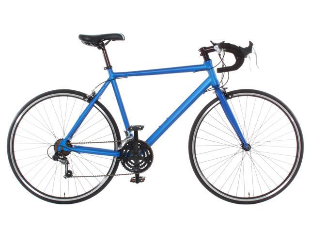 Aluminum Road Bike Commuter Bike Shimano 21 Speed 700c Medium (54cm) - Blue