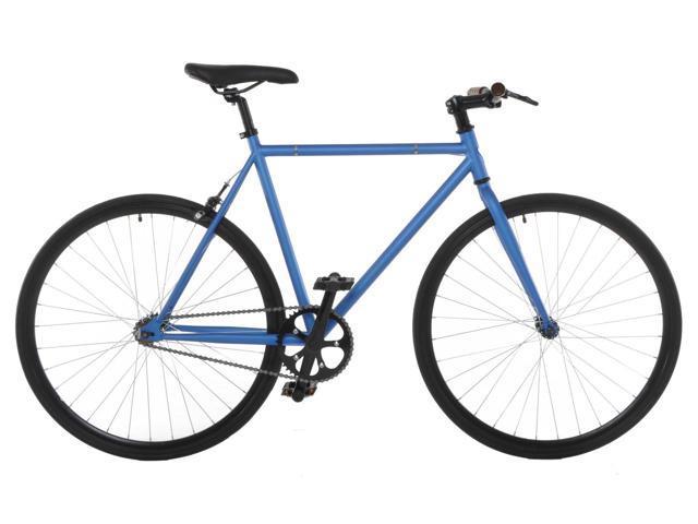 Vilano Fixed Gear Bike Fixie Single Speed Road Bike (50 cm) - Blue/Black