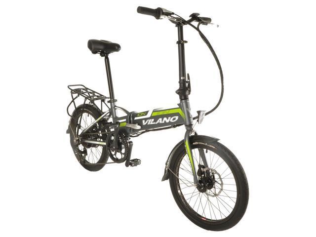 Vilano Ion Electric Folding Bike 20 Inch Wheels