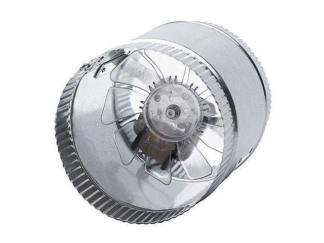 6-Inch 110vac 250cfm In-Line Duct Booster Fan