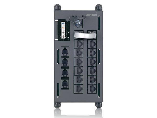 Telephone Distibution Input Panel, Black