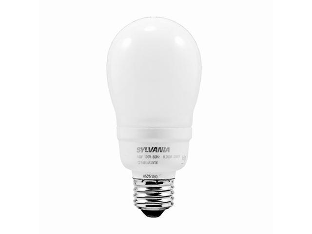 Sylvania 14 Watt Soft White CFL Medium Base Light Bulb