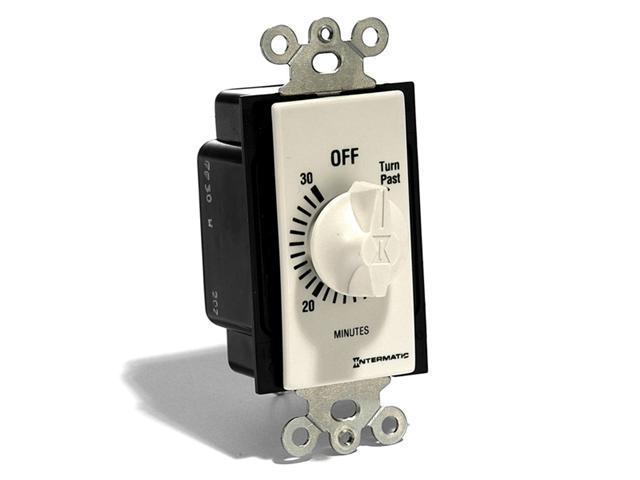 Spring Wound Wall Switch Timer (30 Min.) - White