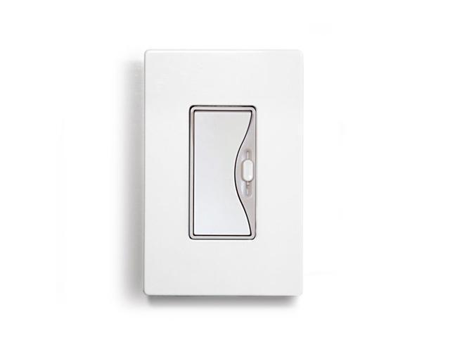 Aspire 9530WS 600w Slide Dimmer - White Satin