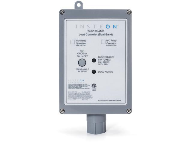 220V / 240V 30 AMP INSTEON Load Controller Normally Closed Relay (Dual-Band)