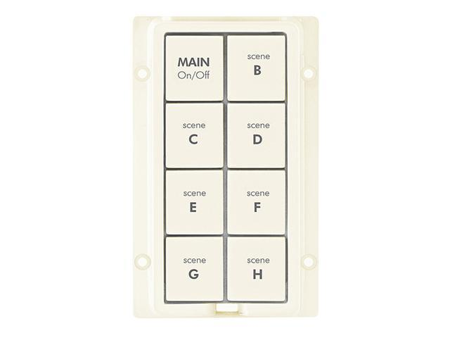 8-Button Change Kit for KeypadLinc, Almond