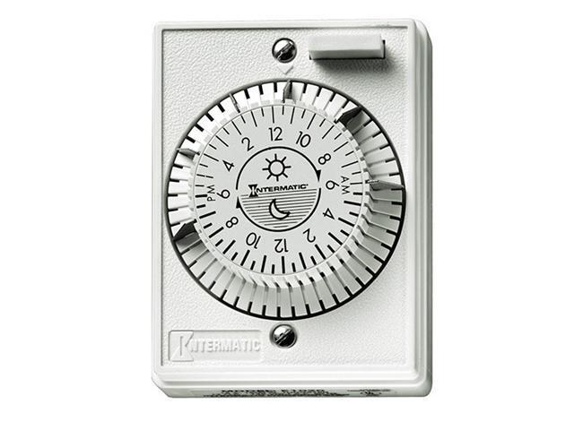 Intermatic E1020 24-Hour Mechanical Timer Switch
