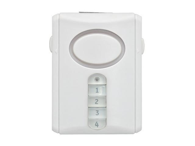 GE 45117 Wireless Door Alarm with Programmable Keypad