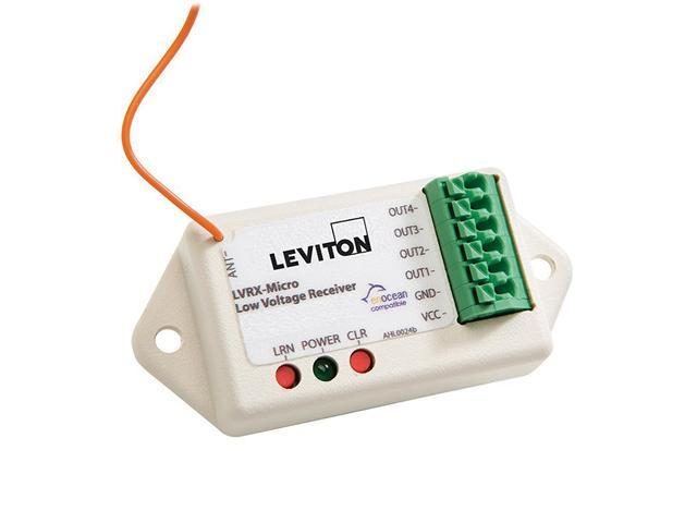 Leviton WS0RC-200 LevNet 2-Channel Room Controller