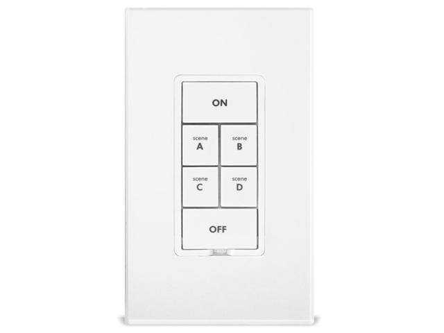 KeypadLinc Relay - INSTEON 6-Button Scene Control Keypad with On/Off Switch (Non