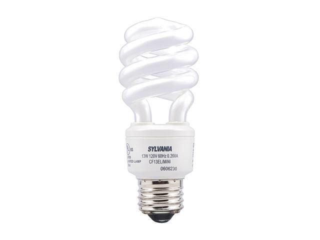 3 Pack 13 Watt Mini-Twist CFL