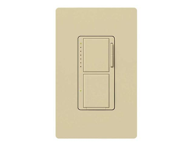 Lutron MA-L3S25-IV Maestro 300 Watt Dual Dimmer and Switch, Ivory
