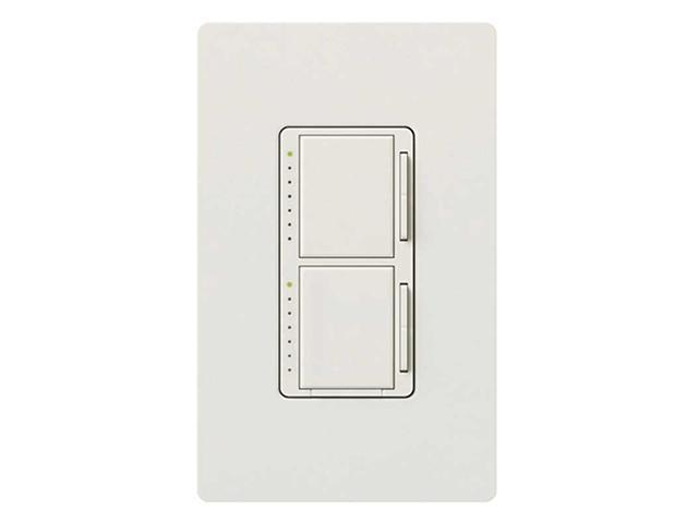 Lutron Maestro Dual Dimmer 300W/300W White LUTRON ELECTRONICS MA-L3L3-WH