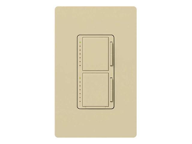 Lutron MA-L3L3-IV Maestro 300 Watt Dual Dimmer Switch, Ivory