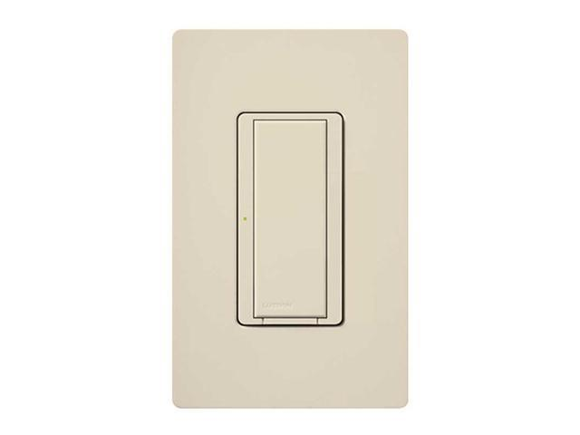 Lutron MRF2-6ANS-LA Maestro Wireless RF 6 Amp Switch, Light Almond