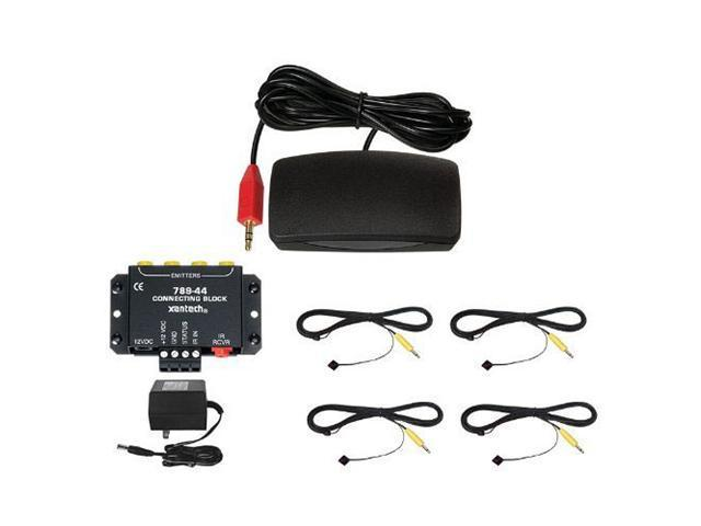Xantech HL85BK Designer Hidden Link IR Receiver Kit, Black