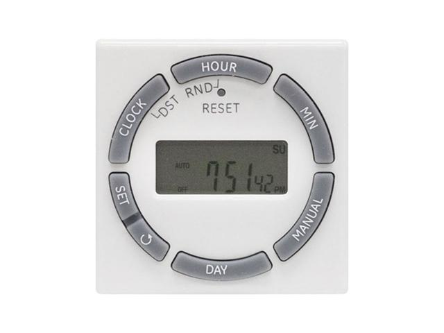 GE 15089 7-Day Digital Plug-In Lamp/Appliance Timer