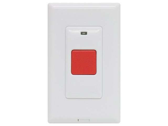GE 45145 Wall Mount Choice Alert Panic Button Remote