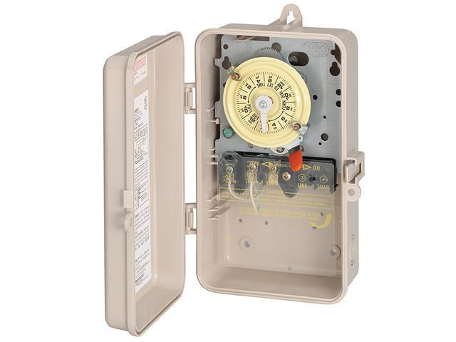 Intermatic T101P3 SPST Pool/Spa Time Switch in Plastic Enclosure