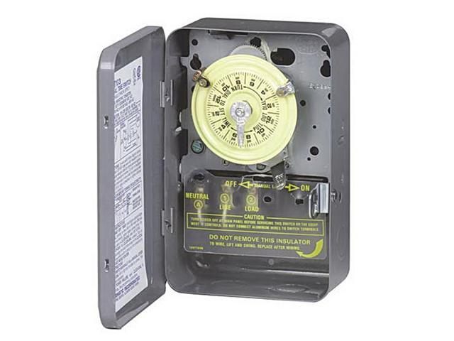 Intermatic T103 125V DPST 24-Hour Dial Timer