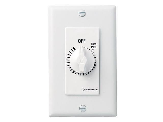 Intermatic FD430MW DPST 30-Minute Spring Wound Timer - White