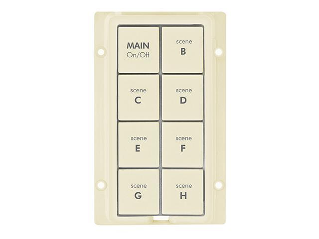 8-Button Change Kit for KeypadLinc, Ivory