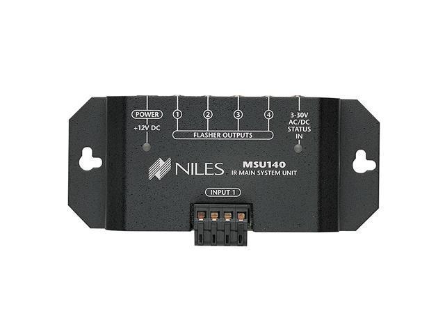 Niles MSU140 IR Repeater Main System with One IR Input and Four IR Outputs
