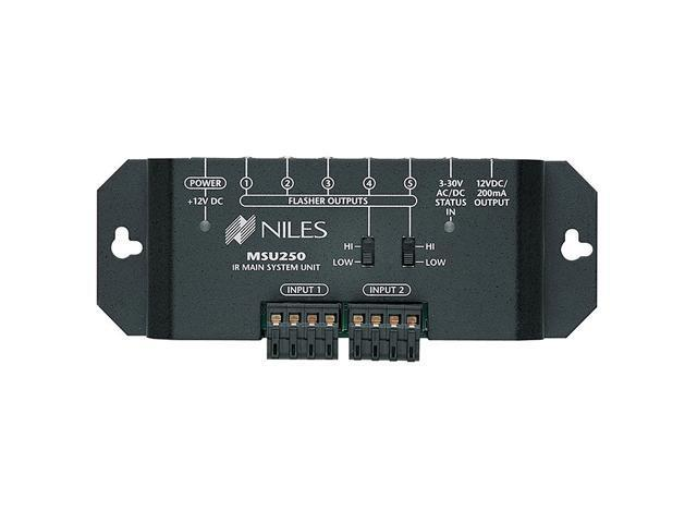 Niles MSU250 IR Repeater Main System with Two IR Inputs and Five IR Outputs