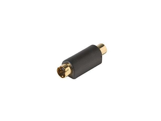 Steren 251-152 Female RCA Jack to Female S-Video Plug Adapter