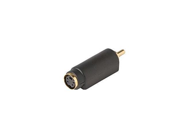 Steren 251-153 Female S-Video Jack to Male RCA Plug Adapter