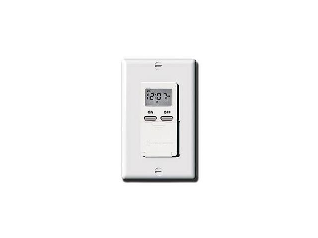 Intermatic EI500WC Digital 7-Day Timer, White