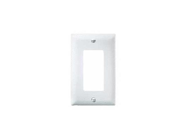 OnQ legrand WP1205-LA 1-Gang Decorator Wall Plate, Light Almond