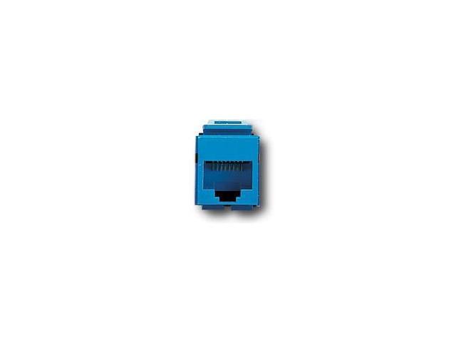 Leviton 41108-RL5 QuickPort Snap-In Cat. 5 Jack, Blue