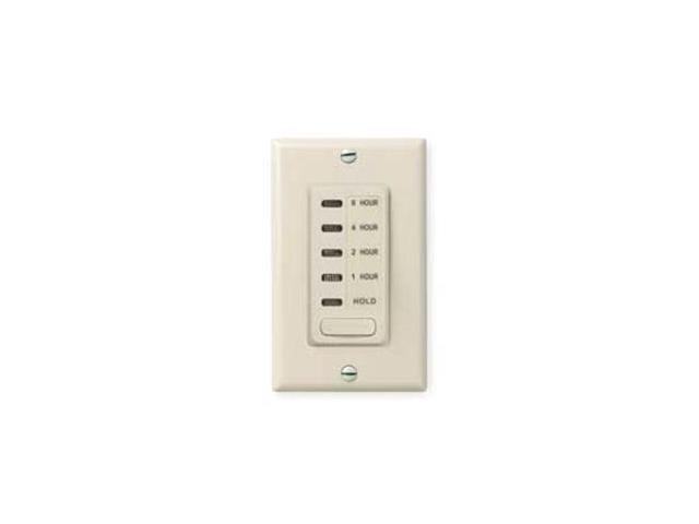 Intermatic EI220LA 1/2/4/8 Hour Electronic Countdown Timer - Light Almond