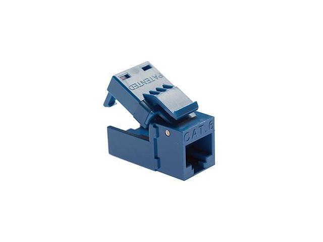 Platinum Tools 706BL-1 EZ-SnapJack Cat.6 Connector - Blue